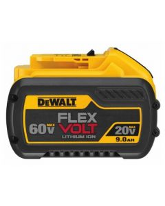 DeWalt DCB609 FLEXVOLT 20V/60V MAX* Battery Pack, 9.0 Ah