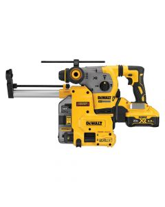 "DeWalt DCH293R2DH 20V Max XR Cordless 1-1/8"" L-Shape SDS Plus Rotary Hammer Kit with Dust Collection"