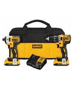 DeWalt DCK283D2 20V MAX Compact Brushless Drill & Impact Driver Combo Kit