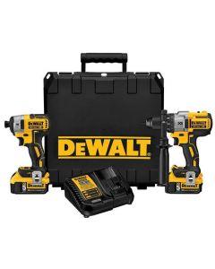 DeWalt DCK299P2 20V Max XR Lithium-Ion Cordless 2-Tool Combo Kit
