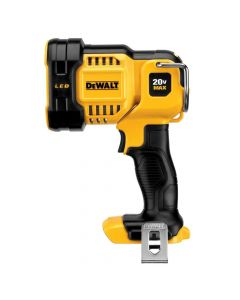 DeWalt DCL043 20V Max Lithium-Ion Cordless Jobsite LED Spotlight, Bare Tool