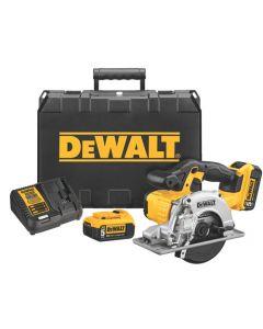 "DeWalt DCS373P2 20V MAX* Lithium Ion Cordless 5-1/2"" Metal-Cutting Circular Saw Kit"
