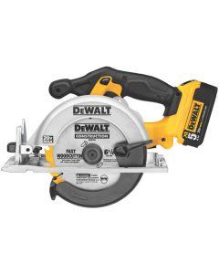 DeWalt DCS391P1 Circular Saw Kit, 6-1/2 inch Blade, 20 V Max, 5250 RPM