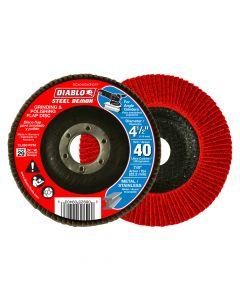 "Freud DCX045040N01F 4-1/2"" 40 Grit Diablo Steel Demon Flap Disc"