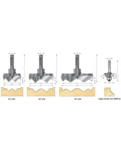 Rosette Cutter Bits for Drill Press (Carbide Tipped)