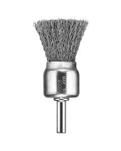 """DeWalt DW49054 3/4"""" x 1/4"""" XP .020"""" Carbon Knot Wire End Brush"""