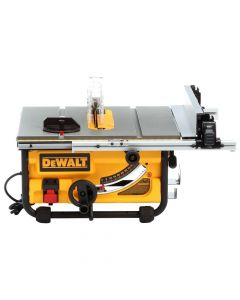 "Dewalt DWE7480 10"" Compact Job Site Table Saw with Site-Pro Modular Guarding System"
