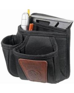 9504 Occidental 7 Pouch Clip-On Tool Bag Nylon/Leather