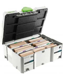 Festool 498205 Size 12 &14 mm Domino Tenon Assortment, Sys 12/14, for the DF700 Domino XL
