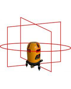 PLS HVL-100 System -Horizontal/Vertical Laser Line Level with Detector