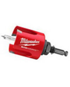 "Milwaukee 49-56-9120 2-1/8"" Big Hawg Hole Cutter with Pilot Bit"