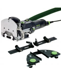 Festool 574432 DF500Q-SET DOMINO Joiner with Trim Stop & Cross Stop in T-Loc Systainer