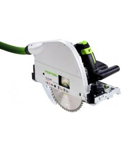 "Festool TS75EQ Imperial Scale 8-1/4"" Plunge Cut Circular Saw with 75"" Guiderail & Systainer (575390)"