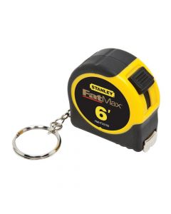 """Stanely FMHT33706M Fatmax 6' x 1/2"""" Keychain Tape Measure"""