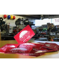 Burns Power Tools Gift Certificate in $1 Denominations