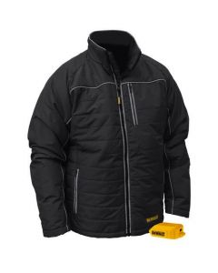 DCHJ075B-L Quilted Heated Jacket, Large, Bare Tool