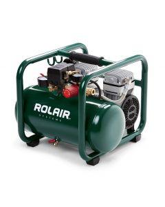 Rolair JC10PLUS 1 HP 2.5 Gallon Direct-Drive Electric Compressor, Oil-Less