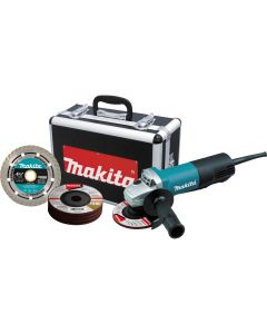 "9557PBX1 4-1/2"" Angle Grinder with Lock-On Paddle Switch, 7.5 Amp, 10000 RPM"
