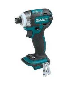 "Makita XDT09Z 18V LXT Lithium‑Ion Brushless Cordless Quick-Shift Mode 3-Speed 1/4"" Impact Driver, Bare Tool"