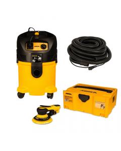 "Mirka MID-550-912-10 DEROS 5"" Dust Free System 33' Sander Kit"