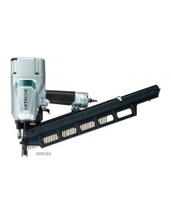 "Hitachi NR83A5 3-1/4"" Stick Framing Nailer (Plastic Collated Round Head Nails)"