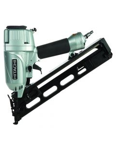 """Hitachi NT65MA4 2-1/2"""" 15-Gauge Angled Finish Nailer with Air Duster"""