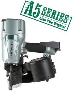 "Hitachi NV83A5 3-1/4"" Coil Framing Nailer"