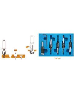 Carbide-Tipped Countersink & Steel Plug Cutter Set