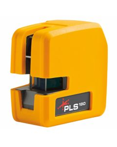 Pacific Laser Systems PLS 180 Red Self-Leveling Cross Line Laser Level Tool (PLS-60521N)