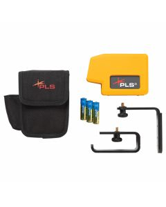 Pacific Laser Systems PLS 3 Red Point-to-Point Laser Level (PLS-60523N)