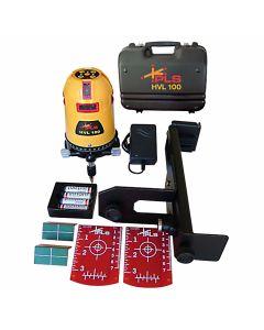 Pacific Laser Systems PLS HVL 100 Multi-Line Laser Level Tool (PLS-60560)