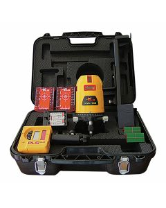 Pacific Laser Systems PLS HVL 100 Multi-Line Laser Red Tool with SLD Detector (PLS-60561)