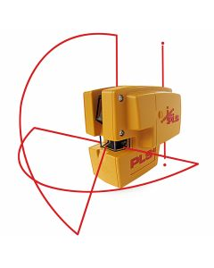 Pacific Laser Systems PLS 4 Red Combination Line and Point Laser Level (PLS-60574)