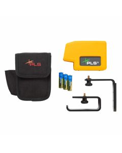 Pacific Laser Systems PLS 3 Green Point-to-Point Laser Level (PLS-60595N)