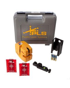 Pacific Laser Systems PLS 480 Red Self-Leveling Line Laser Level Tool (PLS-60611)
