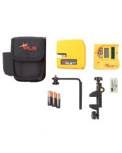 Pacific Laser Systems  PLS 180 Green Cross Line Laser Level System with SLD Detector (PLS-60619N)