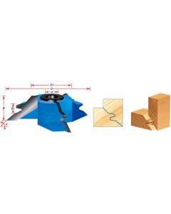 Lock Miter Shaper Cutters