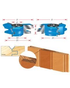 V Paneling 2-Piece Shaper Cutter Set