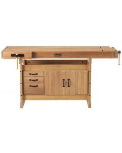 Sjobergs Scandi Plus 1825 Workbench + SM03 Cabinet and Scandi Plus Accessory Kit Combo
