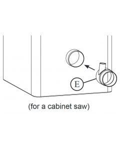 Saw Stop TSA-ODC-007 Dust Port Splitter Connector