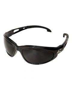Edge Eyewear SW116 Dakura Safety Glasses Black with Smoke Lens