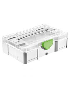 Festool 203813 SYS-MINI 1 TL TRA Systainer with Transparent Cover