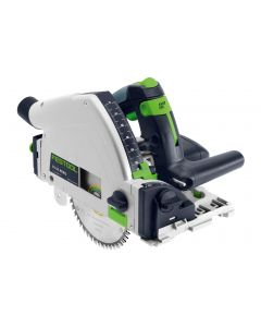 "Festool TS55REQ Imperial 6-1/4"" Plunge Cut Track Saw Kit with 55"" Guide Rail (575388)"