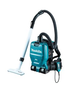 Makita XCV05Z 18V X2 LXT Lithium‑Ion (36V) Cordless 1/2 Gallon HEPA Filter Backpack Dry Dust Extractor/Vacuum, Bare Tool
