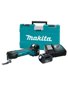 Makita XMT035 18V LXT Lithium‑Ion Cordless Multi-Tool Kit, 3.0 Ah Batteries
