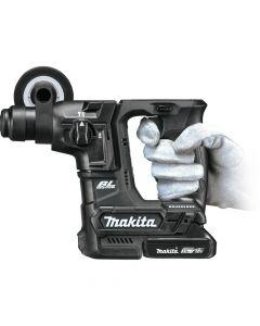 "Makita XRH06RB 18V LXT Sub Compact Brushless Cordless 11/16"" Rotary Hammer Kit, 2.0Ah Batteries"