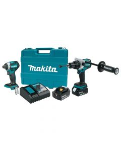 Makita XT268T 18V LXT Lithium‑Ion Cordless 2‑Piece Combo Kit