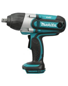 "Makita XWT04Z 18V LXT Lithium-Ion Cordless 1/2"" Square Drive Impact Wrench, Bare Tool"