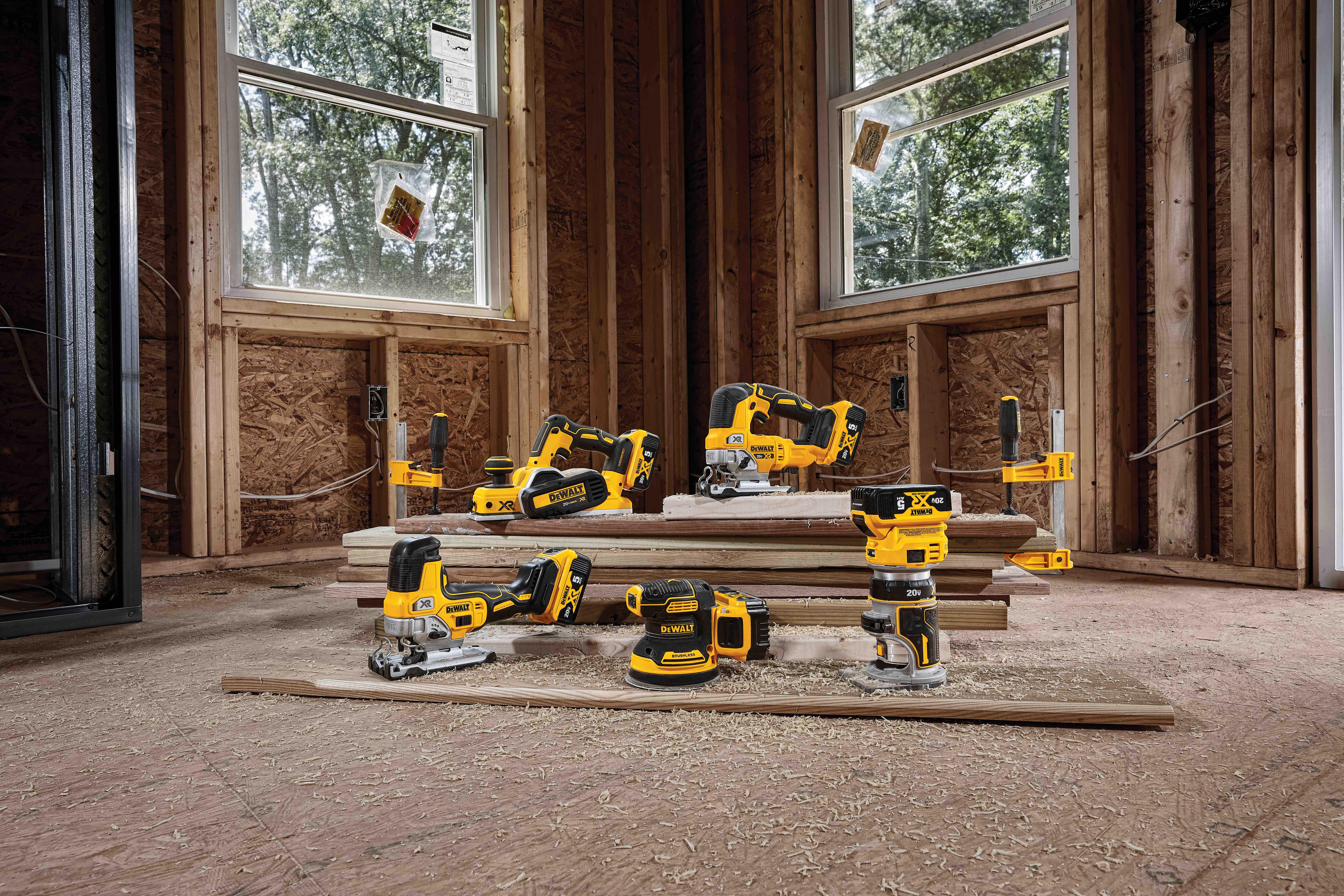 New DeWALT Brushless Cordless Woodworking Tools