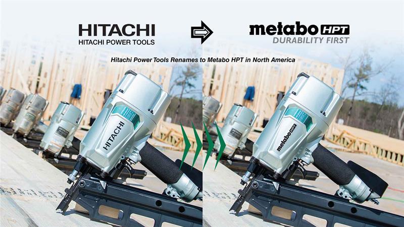 New Name, Same Great Tools. Say HELLO to Metabo HPT.